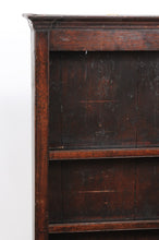 Load image into Gallery viewer, Chippendale Breakfront Bookcase in Darkly Stained Oak