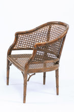 Load image into Gallery viewer, Oak Caned Arm Chair