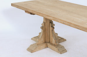 Stripped Oak Table
