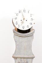 Load image into Gallery viewer, 1820's Mora Clock Painted Blue