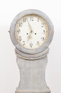 1820's Mora Clock Painted Blue