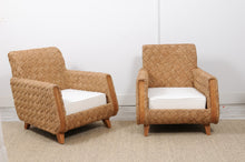 Load image into Gallery viewer, Vintage Rattan Armchair