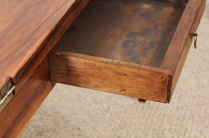 Folding Walnut Table