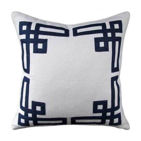 Ryan Studio Addison Fretwork Pillow
