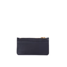Load image into Gallery viewer, Alix Leather Card Holder Wallet in Black