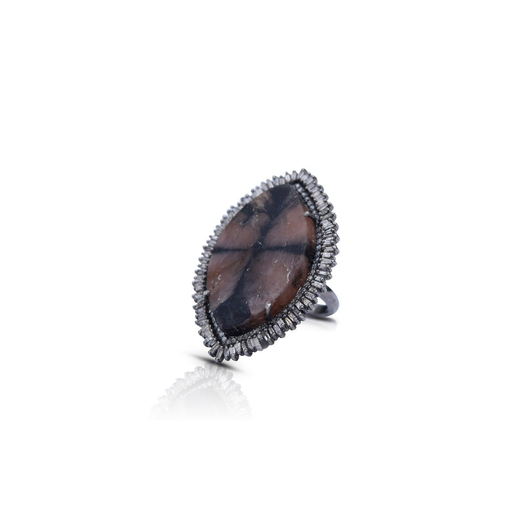 S. Carter Designs Andalusite Ring