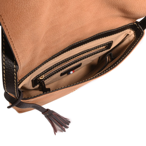 Loxwood Anouk Messenger Bag in Nubuck Camel