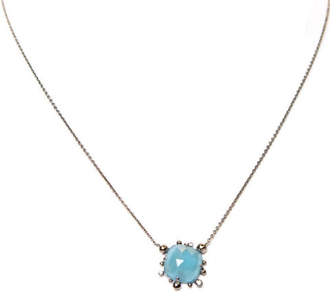 Cindy Ensor Aquamarine Necklace
