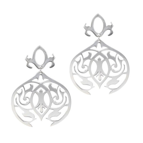 Marion Cage Arabesque Dangle Earrings