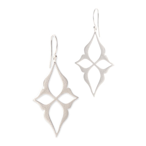 Marion Cage Arabesque Star Earrings