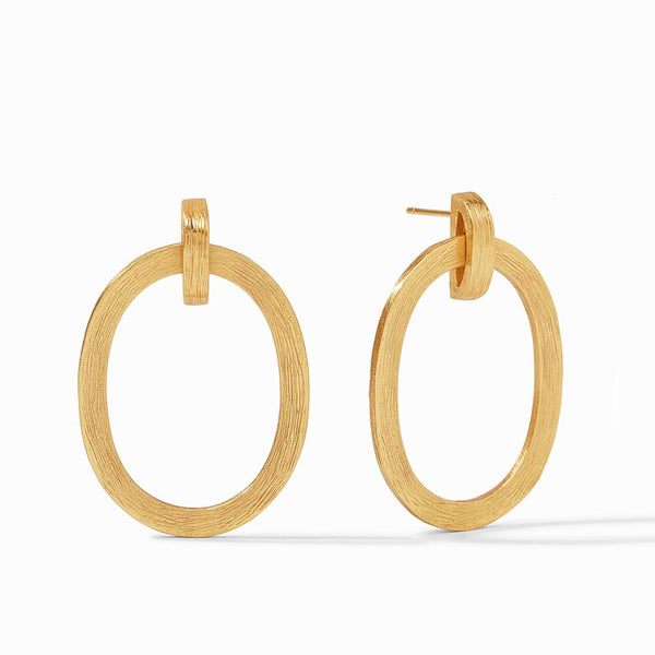 Julie Vos Aspen Doorknocker Earrings