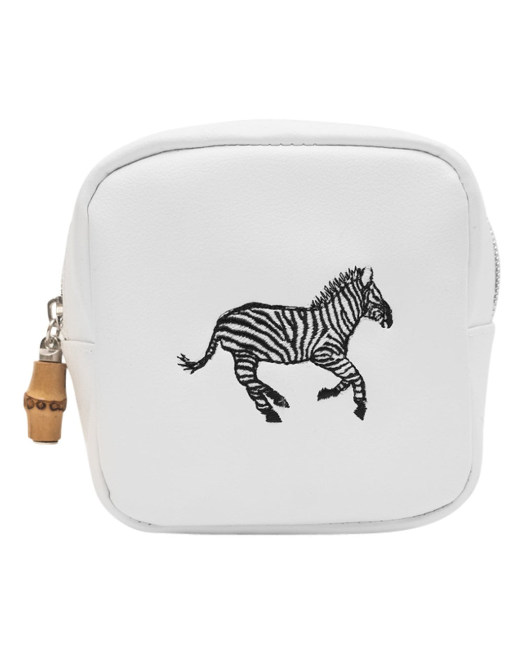 Zebra Baby Glam Mini Zip Bag