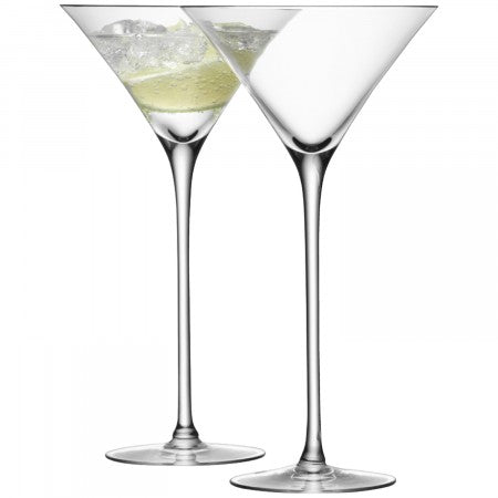 Martini Glass Cocktail Set