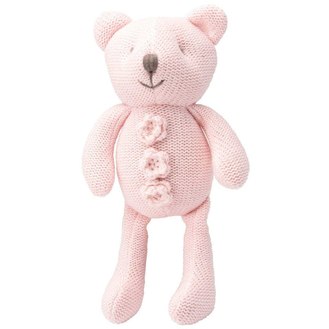 Elegant Baby Crochet Bear Toy