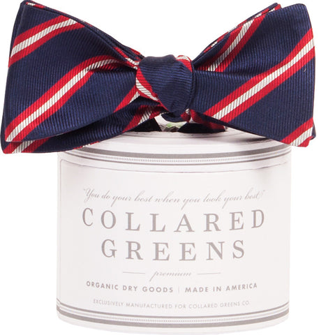 Collared Greens Berkshire Bow Tie