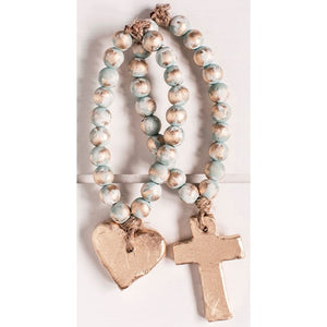 The Sercy Studio Bitty Turquoise Blessing Beads