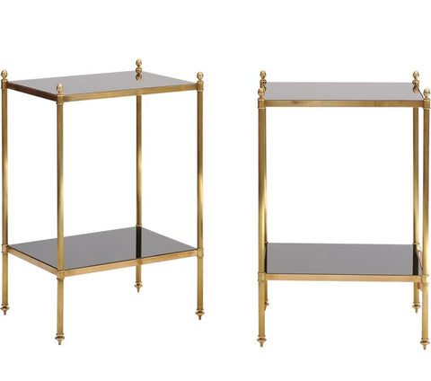 Pair of Maison Jansen-Style Side Tables