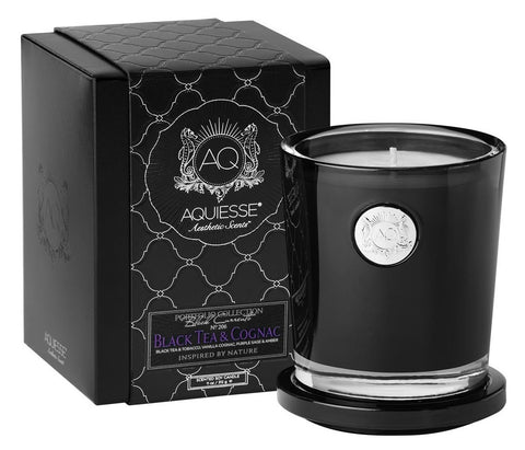 Aquiesse Black Tea and Cognac Candle