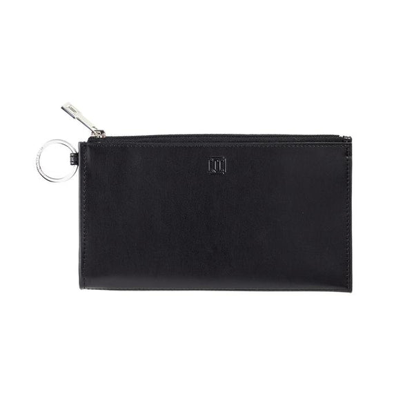 Large Leather Card Case - Back in Black