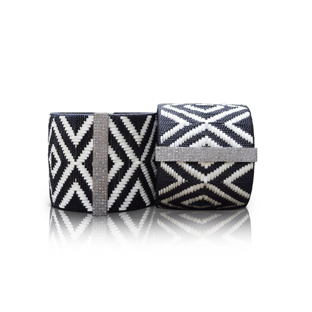 S. Carter Designs Large Woven Cuff