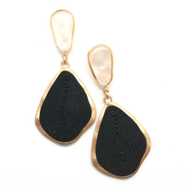 Shiver and Duke Ava Earrings