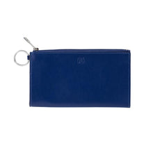 Load image into Gallery viewer, Large Leather Card Case - Mind Blowing Blue