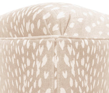 Load image into Gallery viewer, Blush Antelope Ottoman