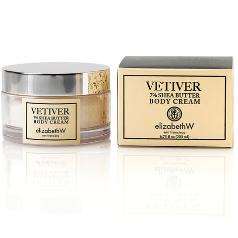 Elizabeth W Vetiver Body Cream