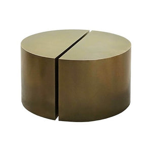Brass Modern Semicircle Tables