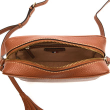 Load image into Gallery viewer, Loxwood Leather Crossbody Camera Bag in Honey