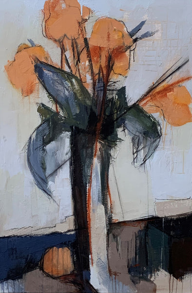 Sharon Hockfield - Cannas in Vase