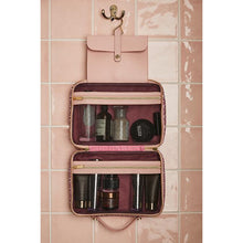 Load image into Gallery viewer, Otis Batterbee London Cerise Toiletries Beauty Bag