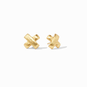 Julie Vos Catalina X Stud Earrings