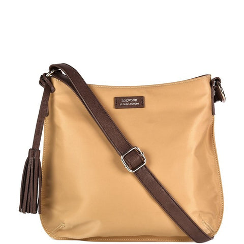 Loxwood Nylon Celia Bag in Beige