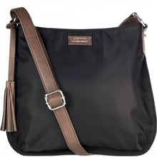 Load image into Gallery viewer, Loxwood Nylon Celia Bag in Black