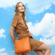 Load image into Gallery viewer, Loxwood Celia 'L' Bag in Papaye
