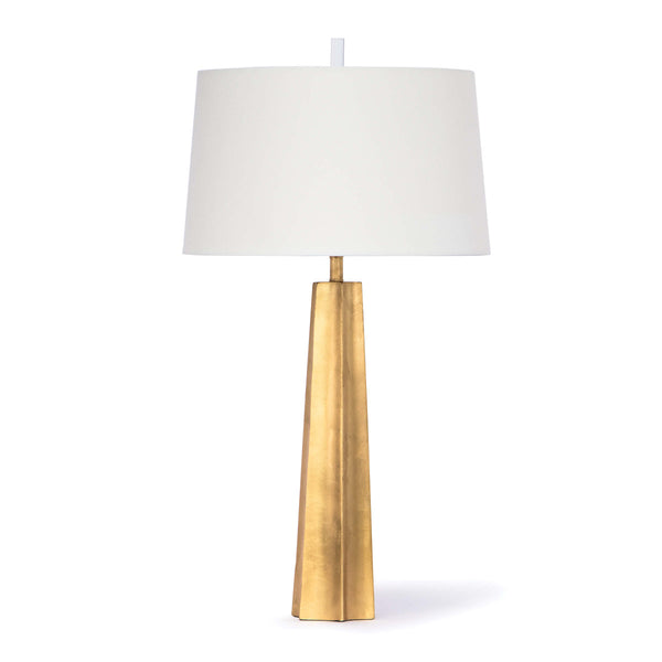 Retro Gold Leaf Table Lamp