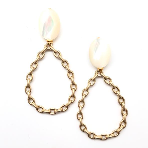 Shiver and Duke Chain Link Earrings