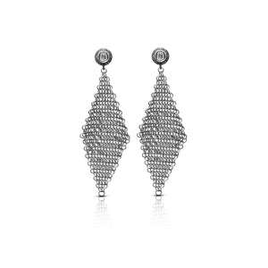 S. Carter Designs Chain Mail Earrings