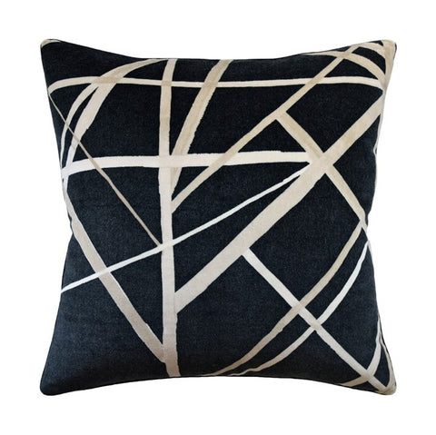 Velvet Patterned Pillow