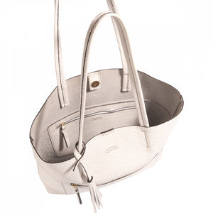 Loxwood Charlie Tote in White