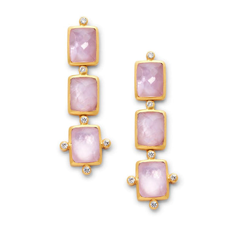 Julie Vos Clara Tier Earrings