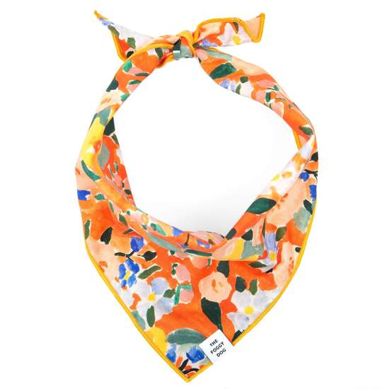 The Foggy Dog Clementine Bandana