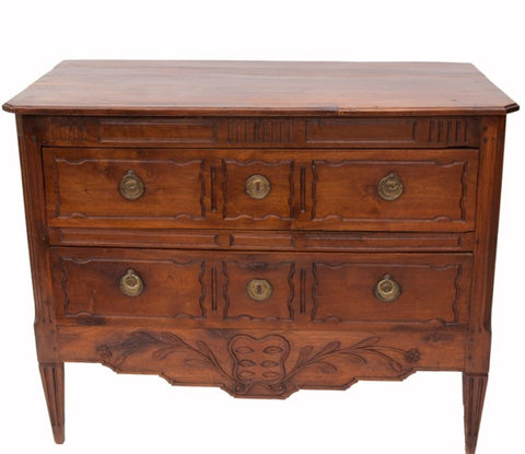 Louis XVI Walnut Commode