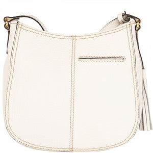 Loxwood Concorde Crossbody Bag in White