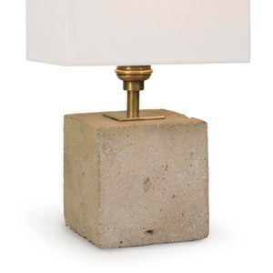 Mini Concrete Cube Lamp