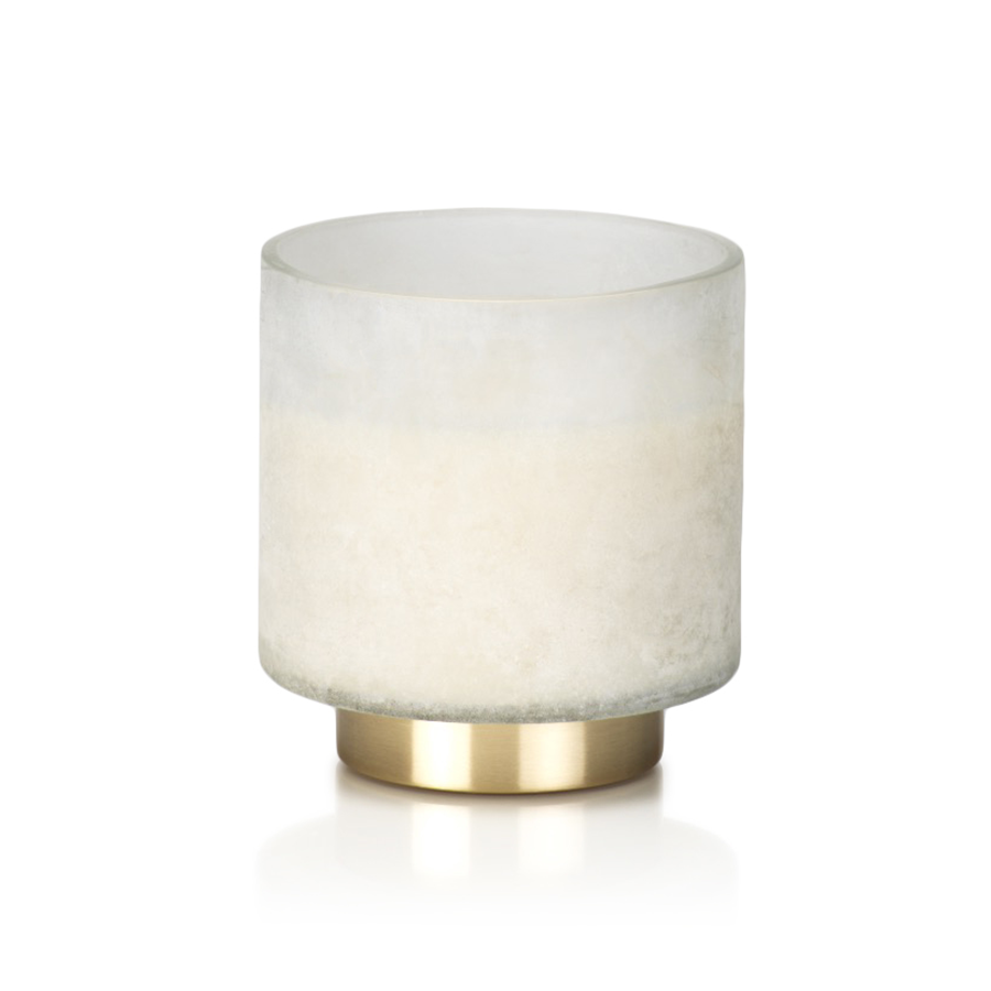 White Tobacco Flower Candle