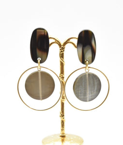 Francine Bramli Layered Hoop Earrings