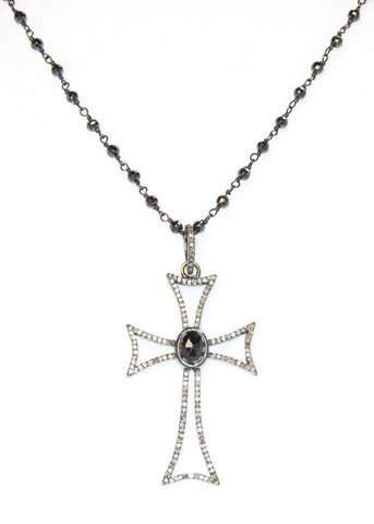Cindy Ensor Cross Necklace