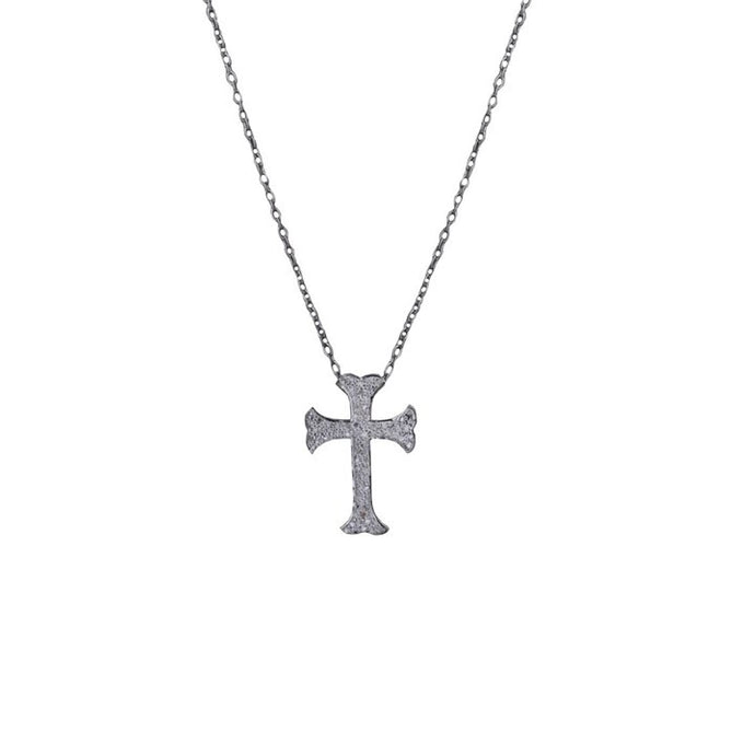 S. Carter Designs Cross Charm Necklace